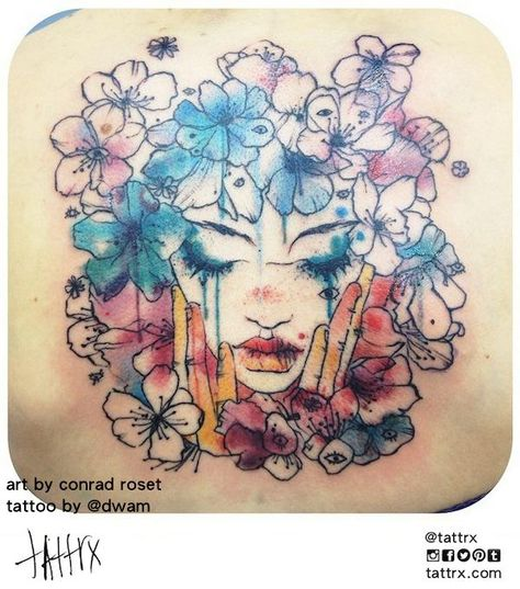 Dwam Nantes France Art By Conrad Roset Salon De Tatouage Roset
