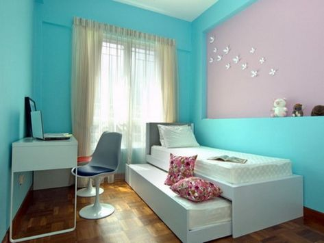 Hellblau Schlafzimmer Zimmer Einrichten Blaues Schlafzimmer