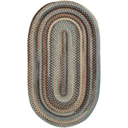 Old Country Braided Oval Runner Rug 2 X 8 Multicolor Braided Area Rugs Oval Rugs Area Rugs