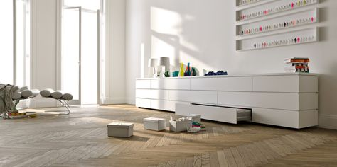 Tv Kast Interlubke.Asymmetric Design Of Commode Can Be Put Behind Sofa Interlubke