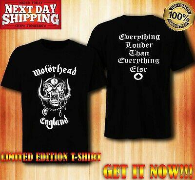 Amplified Motorhead England Men/'s T-Shirt