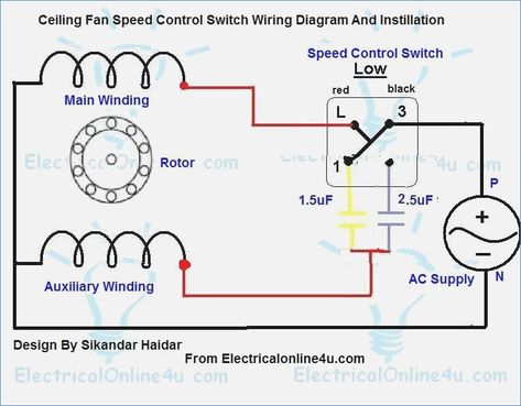 medium control size hunter capacitor outlet ceiling fan of speed wiring switched switch way ceilings