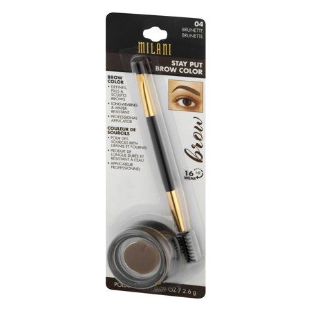 Beauty Milani Stay Put Brow Brow Color Brows