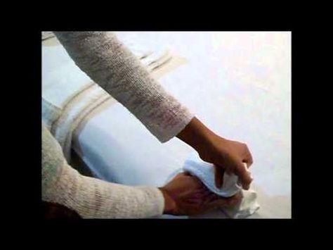 Como Doblar Toallas (4 Estilos/ Formas de doblar) - YouTube