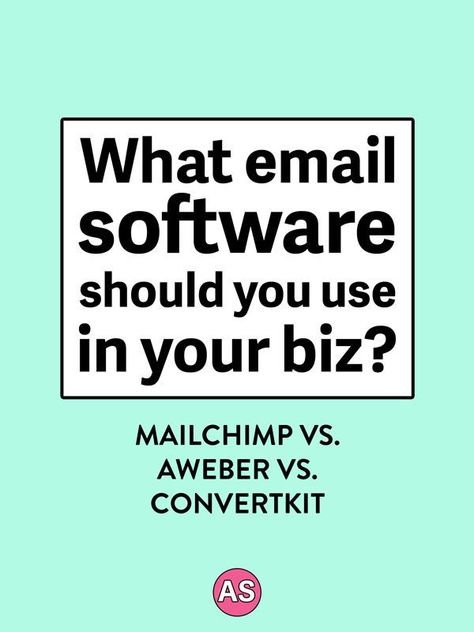 What email software to use in your biz