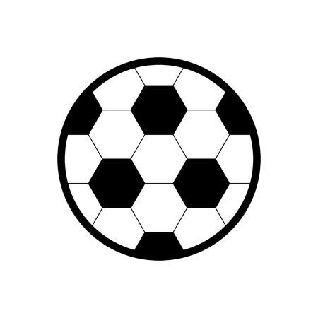 Toy Concept Represented By Soccer Ball Icon Isolated And Flat In 2020 Soccer Ball Vector Art Soccer