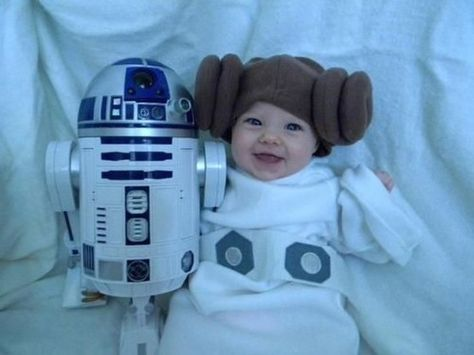 Never too young to start cosplaying...