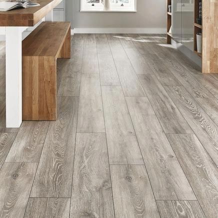 Professional V Groove Light Grey Oak Laminate Flooring Floorrenovationideas Grey Laminate Flooring Oak Laminate Flooring Wood Laminate Flooring
