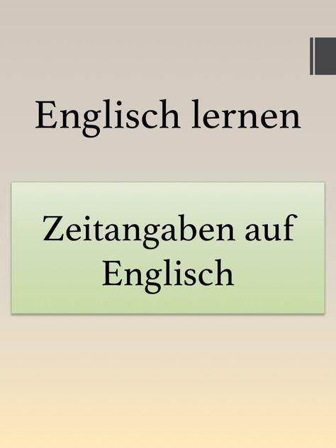 Meckern Englisch