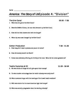 America The Story Of Us Episode 4 Division Viewing Guide