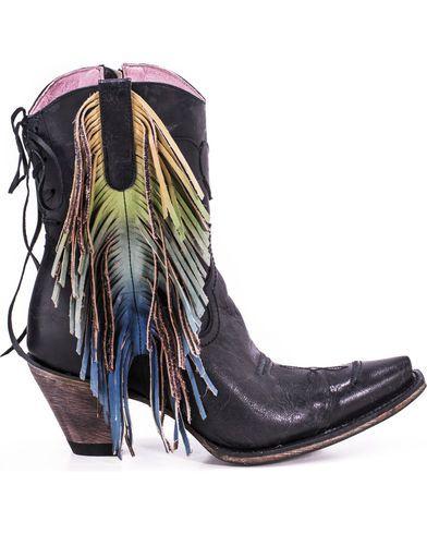 629f880f5fd Junk Gypsy by Lane Women's Spirit Animal Ankle Boots - Snip Toe ...