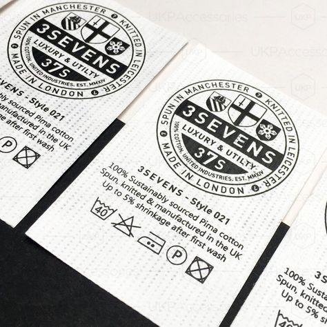 #tyvek #print #label #paper #clean #blackandwhite #custom #bespoke #branding #garment #apparel #design #ukp