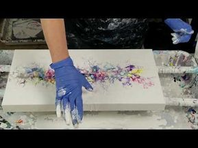 Summerfeeling Einfach Malen Abstrakt Easy Painting