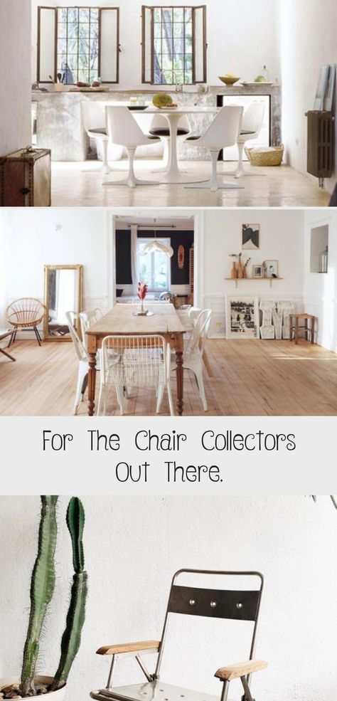 For The Chair Collectors Out There Wire Dining Chairs Home