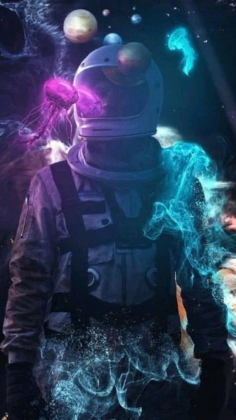 Astronaut in Space Wallpapers