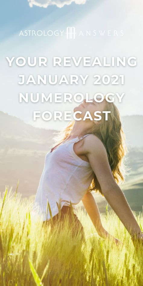 Welcome to a brand new year! January 2021 is a 6 Universal Month meaning this year is starting with tender frequencies and harmonious vibes all around. It's time for your in-depth January 2021 numerology reading, based on your Personal Month number. #numerology #numerologistcom #personalmonth #januarynumerology #universalmonthnumber