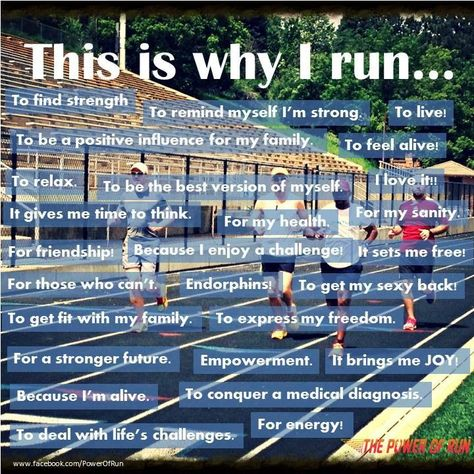 Why I run... #motivation #fitness