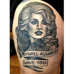 10 - Dolly Parton Tattoos