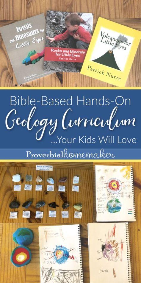 Hands-On Homeschool Geology Curriculum