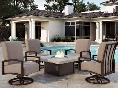 Homecrest Outdoor Living Havenhill Cushion Collection Outdoor Living Patio Furniture Collection Casual Outdoor Furniture