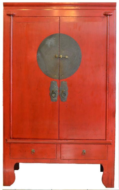 Meuble Armoire Rouge Meubles Pinterest Mobilier De Salon