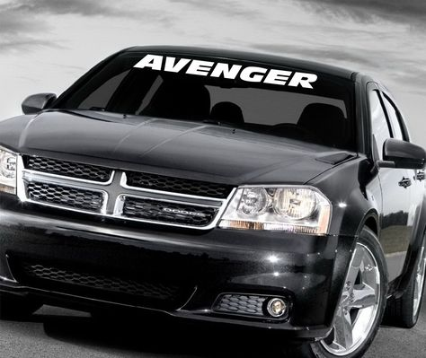 Dodge Avenger Windshield Decal Dodge Avenger Volkswagen Phaeton Dodge