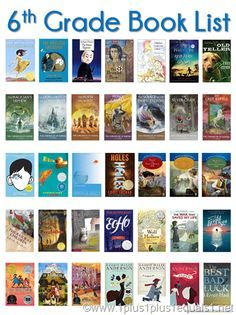 Grade Book ListYou can find grade ela and more on our Grade Book List Sixth Grade Reading, 6th Grade Ela, 5th Grade Books, Ninth Grade, Seventh Grade, Books For Tweens, Books For Boys, Kids Reading, Teaching Reading