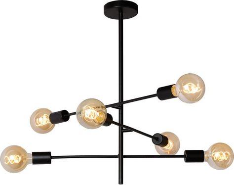 Lucide Lester Plafonniere E27 Zwart In 2020 Verlichting Lampen En Led