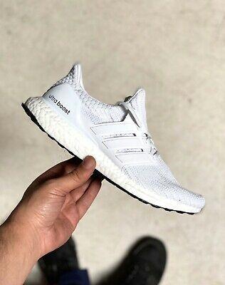 Adidas Ultra Boost 4 0 Triple White Fashion Clothing Shoes
