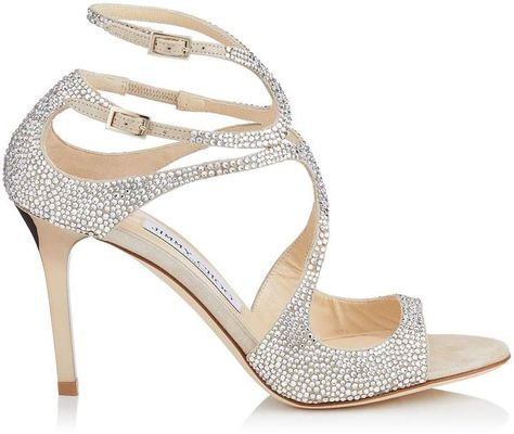 Ivette 85 Crystal Sandals | Mother of the bride | Jeweled