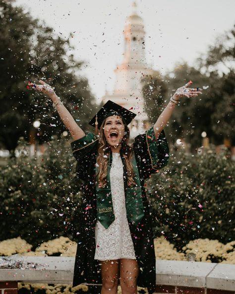 Confetti Senior Graduation Pictures