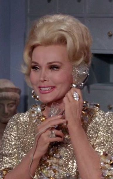 Zsa Zsa Gabor 1917 2016 As Minerva In Batman Final