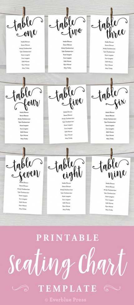 Wedding Table Assignments Display Flower 59 Ideas Wedding Table Seating Chart Seating Chart Template Wedding Table Seating