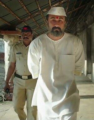 Gif Of Ranbir Kapoor As Sanjay Dutt From Sanju Movie
