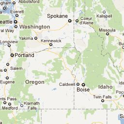 Interactive Ghost Town Map SO Neat Ghost Towns Pinned Onto A - Google maps oregon