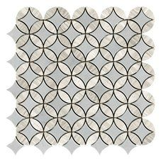 Bianco Carrara Hexagon Polished Marble Mosaic 12 X 12 931100750 Floor And Decor Marble Mosaic Stone Mosaic Marble Mosaic Tiles