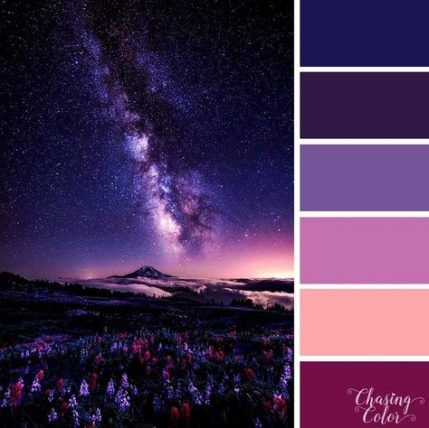 47 Ideas Nature Color Scheme Purple Nature In 2020 Purple Color Combinations Color Palette Pink Nature Color Palette