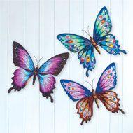 15X DIY 3D Butterfly Wall Stickers Art Decal Paper Butterflies Home Decor PVCA