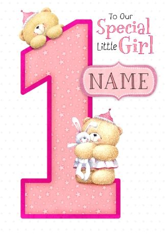 Forever Friends Special Girl Kids Birthday Cards Birthday Cards Birthday Cards For Friends