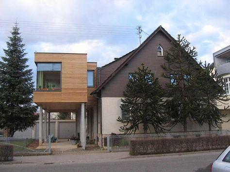 Maison après avoir construit lu0027extension en ossature bois