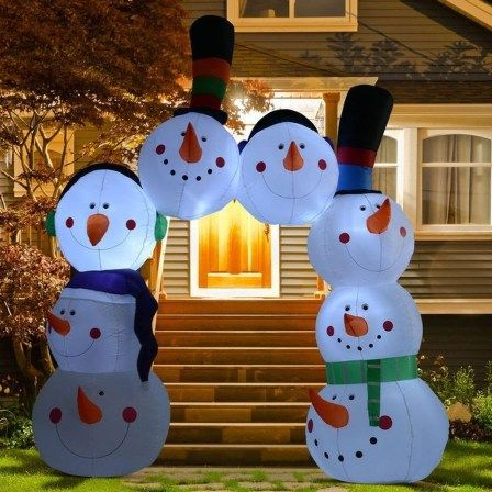 Excellent Outdoor Christmas Decorations Ideas23 Christmas Arch Inflatable Christmas Decorations Outdoor Christmas Decorations