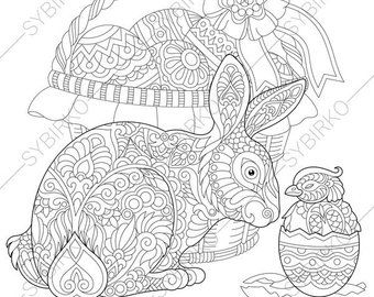 Etsy Your Place To Buy And Sell All Things Handmade Malvorlage Hase Malvorlagen Ostern Malvorlagen Tiere