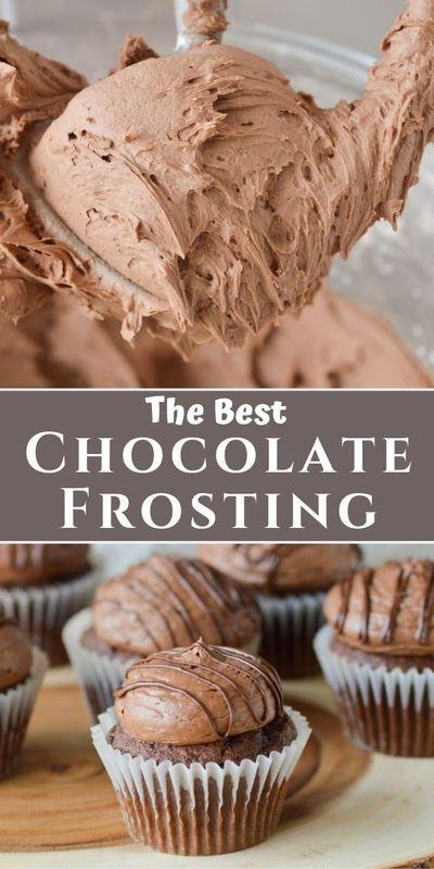 Chocolate Buttercream Frosting Recipe In 2020 Desserts Buttercream Frosting Recipe Frosting Recipes