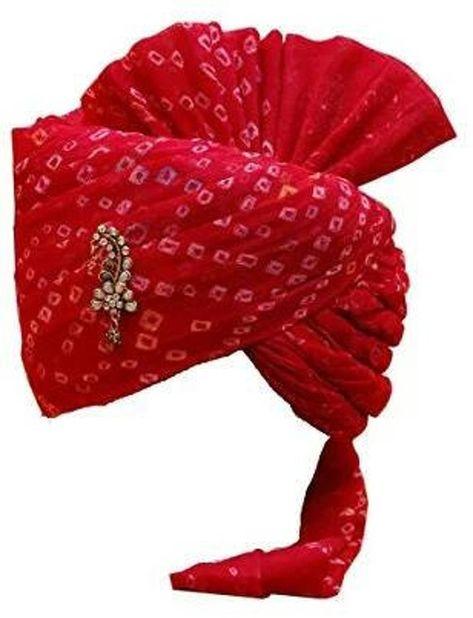 Indian Rajasthani Traditional  Popular Wedding Safa Men's Cotton Wedding ,Cermany Occassion Head Wea