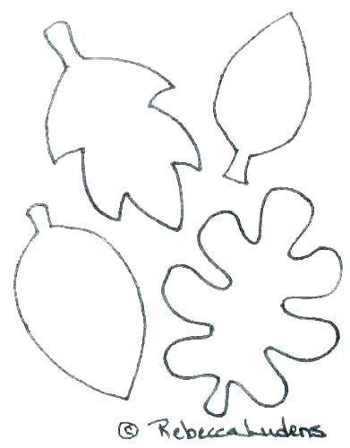 Printable Leaf Coloring Pages Autumn Leaves Corlissjou Win
