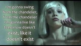 sia - chandelier lyrics - YouTube   Art   Pinterest   Chandelier ...