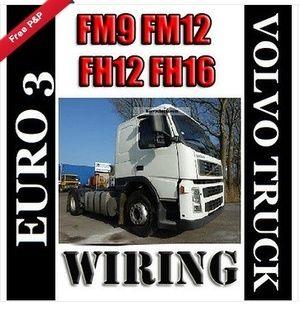 Euro 3 Fm9 Fm12 Fh12 Fh16 Volvo Truck Wiring Electric Diagram Service Manual Volvo Trucks Volvo Electrical Wiring Diagram