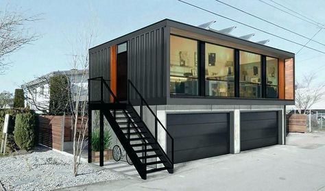 Storage Containers Made Into Homes Examples Of Large Shipping Container Living Luxury This Styled