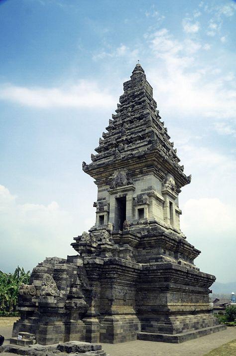 Ciri Ciri Candi Di Jawa Timur : candi, timur, Temples, Ideas, Ancient, Architecture,, Temple,, Central