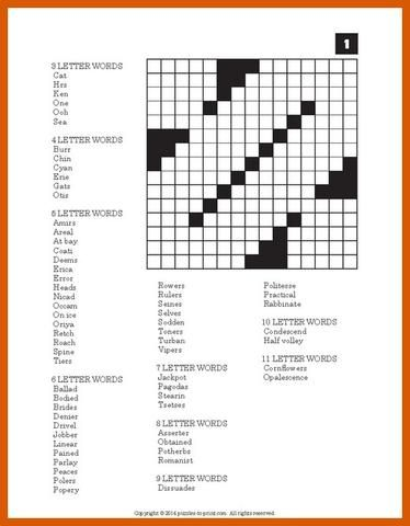 image about Word Fill in Printable called Crossword Fill Inside Puzzles - Printable Vocabulary Developers